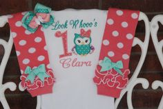 Baby Girl First Birthday Outfit! Girls Owl Birthday outfit/First birthday outfit/Look Who's and pink owl outfit Owl Cake Birthday, First Birthday Outfit Girl, Baby Girl First Birthday, Birthday Ideas, Applique Onesie, Owl Applique, Owl 1st Birthdays, Baby Girl Owl, Baby Girl Leggings
