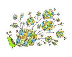 Fiona -Limited Edition hand screen printed art print --Exotic Bird Series 8x10. $20.00, via Etsy.