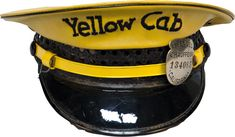Bilderesultat for yellow cab Yellow Car, Black N Yellow, Ny Life, Ny Style, Fashion Colours, Vintage Yellow, Taxi, Captain Hat, Style Inspiration