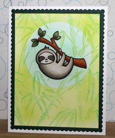 """There's a Card for That: International Sloth Day 