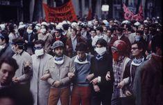 Paris Riots On Night Of May 24, 1968