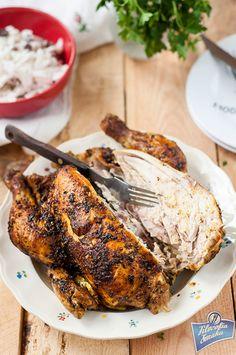 Soczysty kurczak pieczony w rękawie