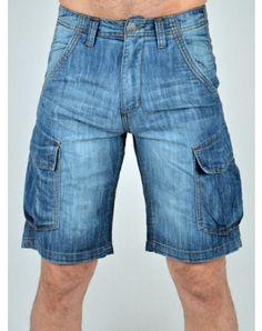 Ανδρικά Ρούχα Denim Shorts, Summer, Blue, Men, Fashion, Moda, Summer Time, Fashion Styles, Guys
