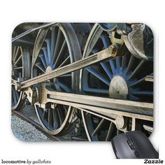 Make your desk your unique space with a new Train mouse pad from Zazzle! Locomotive, Objects, Train, Zug, Locs, Strollers