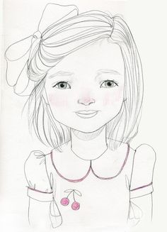 custom individual portrait drawing.  must have this for my girls.