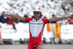 #JoaquimRodriguez failed to make it 3 number one spots in a row after a disappointing year, where overall victory in the #VoltaaCatalunya was the standout! Read more at http://www.cyclingweekly.co.uk/news/latest-news/alejandro-valverde-tops-uci-worldtour-2014-chris-froome-finishes-seventh-2-139858#RJ7syexmvFbwEplE.99