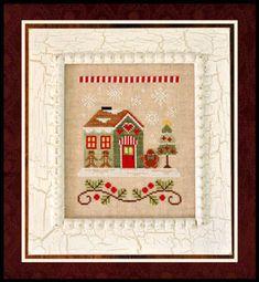 Houses - Cross Stitch Patterns & Kits - 123Stitch.com