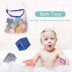 Bath Toys For Toddlers, Toddler Toys, Kids Toys, Baby Bath Toys, Building Blocks Toys, Montessori, Education, Childhood Toys, Toddler Bath Toys