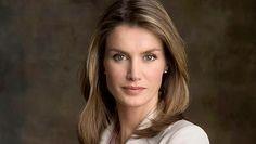 Offizielles Porträt von Prinzessin Letizia von Spanien