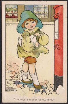 ANNE ANDERSON card 1912 | eBay