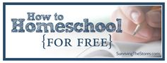 How To Homeschool For Free - HUGE List Of FREE Online Resources Organized By Subject.  New Lists Added Weekly.