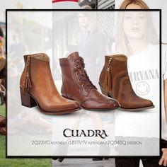 Dime tu tipo de música y te diré qué #botas debes usar. #CUADRA #Botines #Boots #Style #Leather