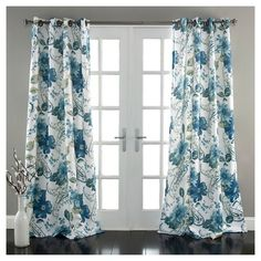 84 Elephant Parade Room Darkening Curtain Panels - Set of 2 : Target