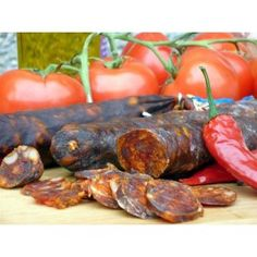 Yorkshire Chorizo Picante - made in Malhamdale by Chris Wildman - one of the partners of Gastro Yorkshire #charcuterie #yorkshiredales Find out more at www.gastroyorkshi...