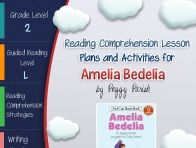 This lesson plan activity package for Amelia Bedelia comes complete with teacher guides, reading comprehension strategy lesson plans, reader's notebook worksheets, vocabulary activities, interactive g...  Click to read more!