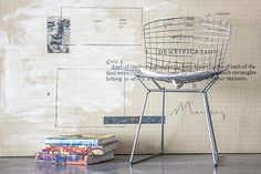 Design Inspiration the Bertoia Chair