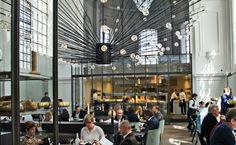 Religious Experience: A Dutch design team transforms a former church into a sybaritic sanctuary of dining for a Michelin-star chef.