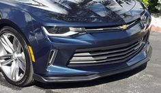 2016-2017 CAMARO RS FRONT SPLITTER W/WINGLETS - SS REPLICA  FRONT CHIN SPOILER    Many RS Camaro drivers have been asking for an SS style splitter for their RS Camaro. Well, your wait is over! Southern Car Parts is proud to offer you our Camaro SS style front splitter for the RS Camaro. Each 2016-2017 Camaro SS front splitter is hand built and comes available in flat black (as shown) or can be ordered in any 2016-2017 Camaro exterior body paint color.