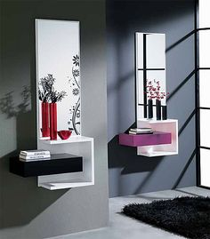 modern decorative wall mirrors designs ideas for living room decoration 2019 Living Room Mirrors, Living Room Decor, Wall Mirrors, Interior Design Living Room, Living Room Designs, Dressing Table Design, Dressing Table Mirror, Spiegel Design, Regal Design