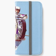' Knievel - Retro ' iPhone Wallet by indieteesnow Diy Wallet, Iphone Wallet Case, Pop Culture, Card Holder, Art Prints, Printed, Retro, Awesome, People