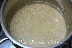 Más allá del gluten...: Cómo Cocinar Quinua (Receta GFCFSF, Vegana)