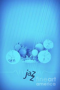 Jazz Blue Accent by Konstantin Sevostyanov