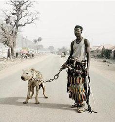 Pieter Hugo photography: Hyena men of Nigeria