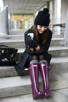 Hunter boots - Lovely Pepa by Alexandra