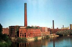 Lowell National Historical Park in Lowell, MA