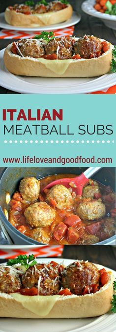 Factors You Need To Give Thought To When Selecting A Saucepan Italian Meatball Subs Life, Love, And Good Food Krogerco Meatball Subs, Meatball Recipes, Beef Recipes, Yummy Recipes, Italian Street Food, Sandwiches, Tacos And Burritos, Italian Meatballs, Tailgate Food