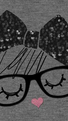 """LUCKY YOU"" Graphic design for Etam Lingerie (nightwear) winter 2012 -- Art © Priscillia Thomas -- Iphone 6 Wallpaper Backgrounds, Smile Wallpaper, Phone Screen Wallpaper, Cool Wallpapers For Phones, Cute Wallpaper For Phone, Hello Kitty Wallpaper, Unique Wallpaper, Couple Wallpaper, Pink Wallpaper"