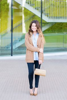 Putting A Chic Spin On Cozy Cardigans (via Bloglovin.com )
