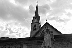 Transacqua Church - Transacqua Church - Transacqua, Trento, Italy. City Architecture, San Francisco Ferry, Italy, Building, Travel, Italia, Viajes, Buildings, Destinations