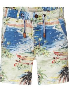 Fishing Bass Mouth Teenager Boys Beachwear Beach Shorts Pants Board Shorts