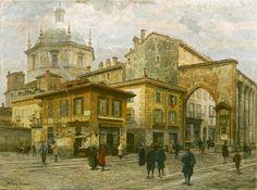 Arturo Ferrari - Piazza Vetra a Milano - Gallerie d'Italia