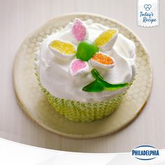 Get creative! These tasty mini cheesecakes are the perfect canvas for a delicious work of art.