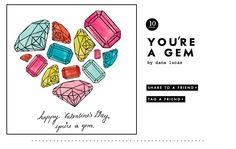 You're a jem valentine from @kate spade new york