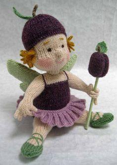 Sugar Plum Fairy Alan Dart knit toys