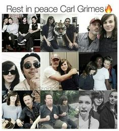 REST IN PEACE CARL GRIMES!  you're one of my favorite Walking Dead characters and you will always be. A lot of people with miss you, you will be missed Carl Grimes / Chandler Riggs hope you always know that.