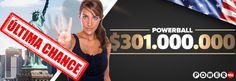 Powerball dos EUA sorteará fortuna hoje, 30-09-2015. Jogue no www.grandesloterias.com