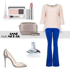 Lindo look, calça flare de malha, excelente caimento no corpo, veste muito bem, cós largo e alto, bolso na frente