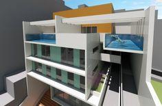 https://flic.kr/s/aHskF9f64j   Residencial Porto 4   Projeto de Arquitetura para Conjunto de Uso Misto - Residencial Multifamiliar e Comércio, na Rua do Livramento, na Zona Portuária do Rio de Janeiro, RJ, Brasil.