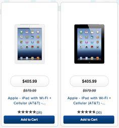 Retailer Offering Discount on iPads