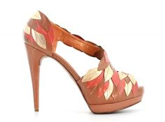 ZILIAN :: Loja Online | sapatos :: OUTLET :: Sandálias em pele castanha