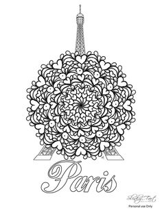 In support of Paris. 2015 Quotes, Adult Coloring Pages, Mandala, Colouring, Om, Therapy, Corner, Adult Colouring In, Adult Color By Number