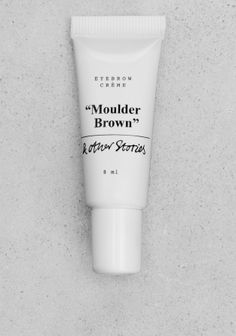 Eyebrow cream adds colour and 'fills' the brows in soft natural shades without harsh lines.