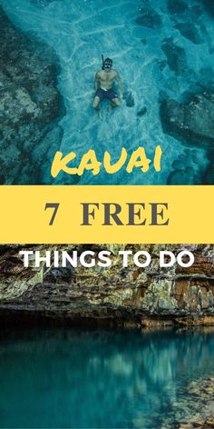 Kauai Travel Guide – Planning a trip to Kauai, Hawaii? Check out this travel gui… Kauai Travel Guide – Planning a trip to Kauai, Hawaii? Check out this travel guide for 7 Free Things to do on Kaua'i, Hawaii. These are must-do experiences in Kauai, Hawaii. Kauai Hawaii, Oahu, Lihue Kauai, Hawaii Life, Kauai Vacation, Hawaii Honeymoon, Honeymoon Style, Hawaii Things To Do, Free Things To Do