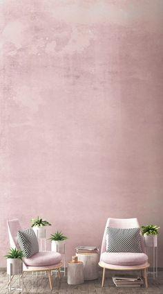 El Millennial Pink ha sido una de las tendencias más populares del año pasado y sigue siéndola. Perfecto tanto si quieres hacer tus paredes protagonistas del entorno o si prefieres un look más minimalista, ese color es una solución estupenda para el dormitorio de los niños, el comedor o la sala de estar. Puedes combinarlo con diferentes tipos de muebles o accesorios para crear el estilo que prefieras. #papelpintado #wallpaper #fotomural #interiordecor #diseño #casa