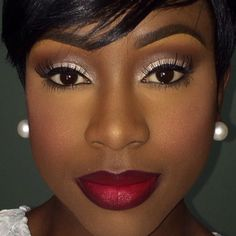 make up tips dark skin makeup, beauty makeup, s Girls Makeup, Love Makeup, Makeup Looks, Hair Makeup, Makeup Ideas, Makeup Style, Gorgeous Makeup, Makeup Tutorials, Bridal Makeup