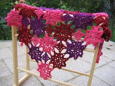 Ravelry: Star Shawl: Northern Lights pattern by Annette Petavy